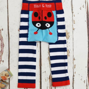Ladybird Leggings, Kids Leggings,