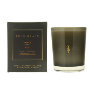 True Grace Manor Amber Candle