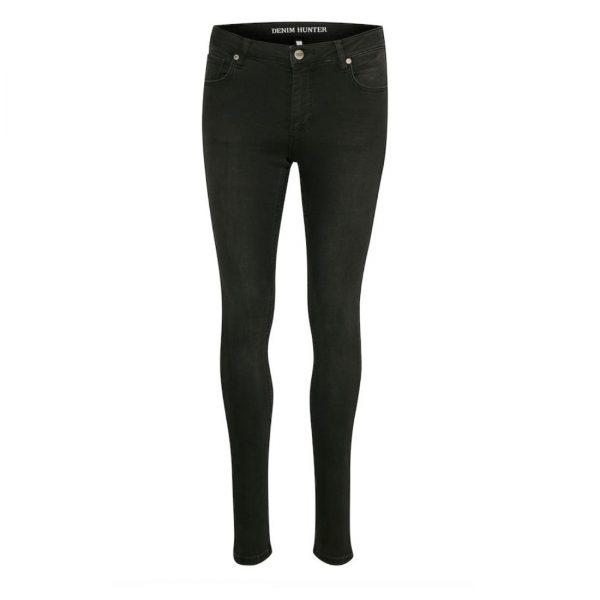 Celina Jeans Long Custom Black Wash