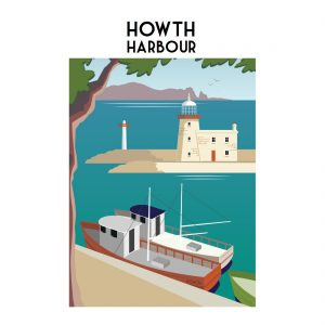 Howth Harbour Print