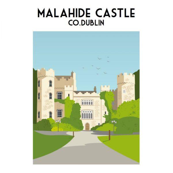 Malahide Castle Print